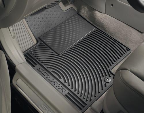 2018-2019 Hyundai Sonata Rubber Floor Mats