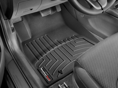 2018 Hyundai Elantra GT WeatherTech Floor Liners - Front Set (Black)