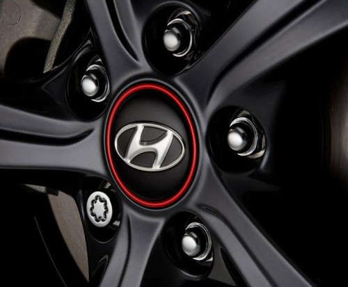 2019-2020 Hyundai Veloster Wheel Locks