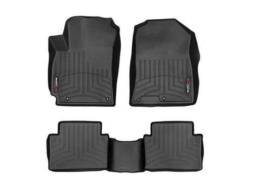 2018-2021 Hyundai Kona WeatherTech Floor Liners - Full Set