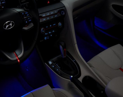 Hyundai Veloster Interior Lighting Kit