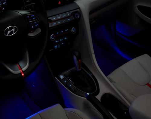 2019-2021 Hyundai Veloster Interior Lighting Kit