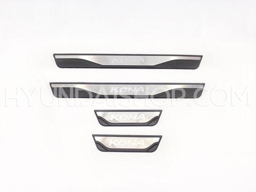 Hyundai Kona Door Sill Plates - Set of 4