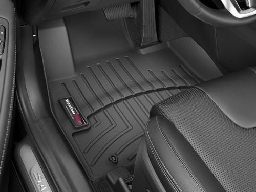 2019-2020 Hyundai Santa Fe WeatherTech Floor Liners - Front Mats (Black)