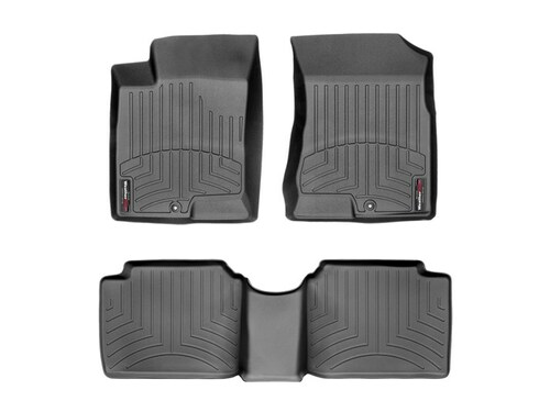 2006-2010 Hyundai Sonata WeatherTech Floor Liners- Full Set (Black)