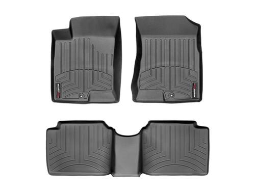 2006-2010 Hyundai Sonata WeatherTech Floor Liners- Full Set (Black)