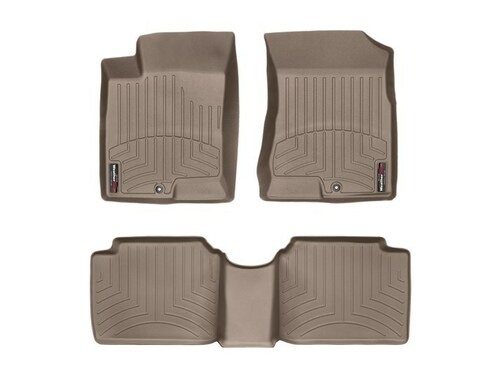 2006-2010 Hyundai Sonata WeatherTech Floor Liners- Full Set (Tan)