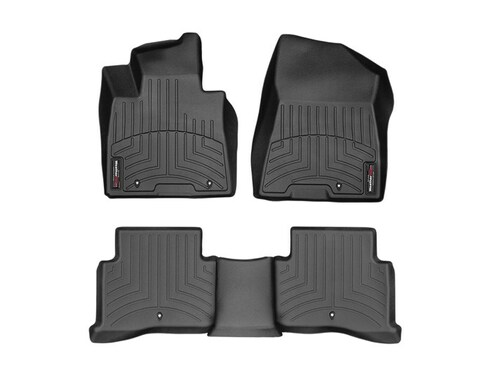 2019-2021 Hyundai Tucson WeatherTech Floor Liners - Full Set (Black)
