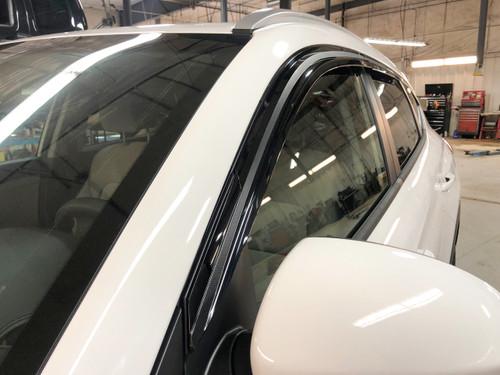 Hyundai Santa Fe XL Rain Guards