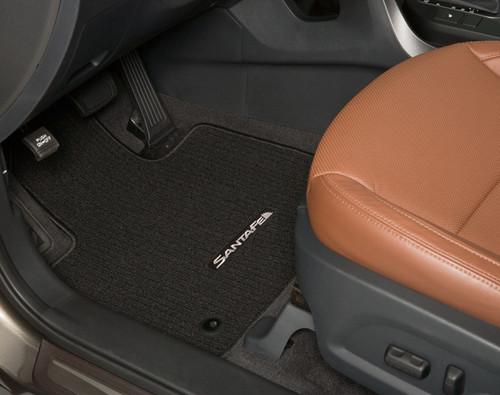 2019 Hyundai Santa Fe XL Carpeted Floor Mats