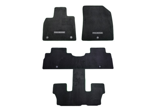 2020-2021 Hyundai Palisade Carpeted Floor Mats (Full Set - 7 Passenger)