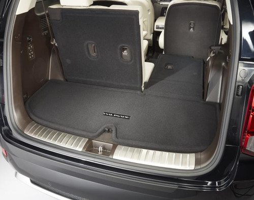 Hyundai Palisade Carpeted Cargo Mat with Seat Back Protection