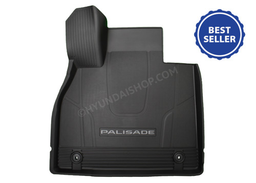 2020 Hyundai Palisade All Weather Floor Mats