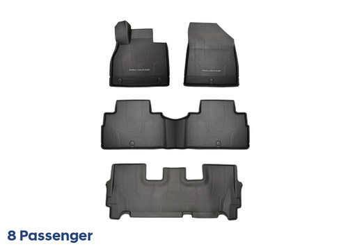 2020-2021 Hyundai Palisade All Weather Floor Mats (8-Passenger)