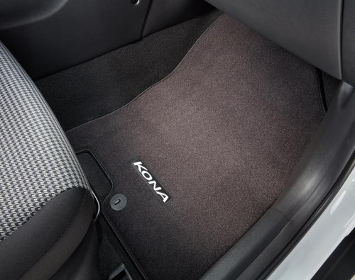 2019-2022 Hyundai Kona EV Carpeted Floor Mats