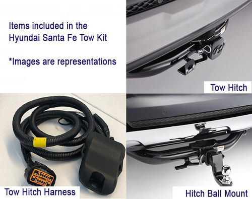 2019-2020 Hyundai Santa Fe Towing Accessories Kit
