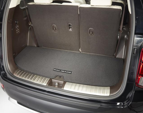 2020-2021 Hyundai Palisade Carpeted Cargo Mat
