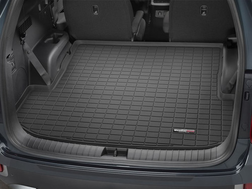 2020-2021 Hyundai Palisade WeatherTech Cargo Liner - Behind 2nd Row (Black)