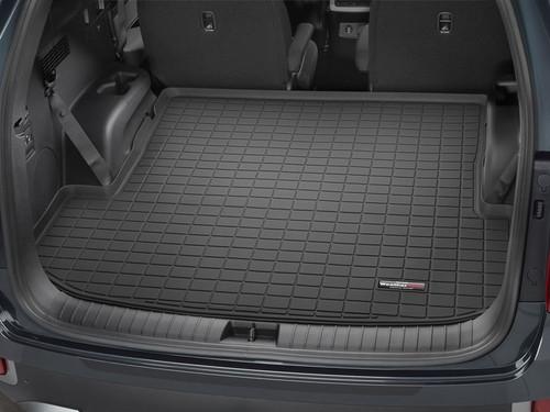 2020-2021 Hyundai Palisade WeatherTech Cargo Liner - Behind 2nd Row (Black)