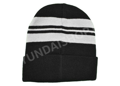 Hyundai Striped Cuff Beanie