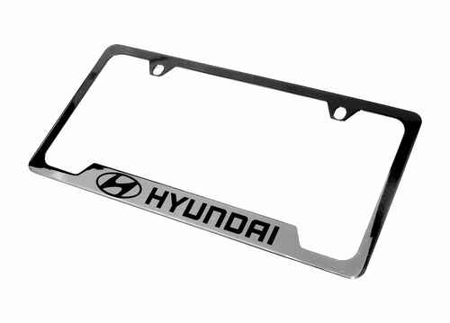 Hyundai License Plate Frame (Chrome)