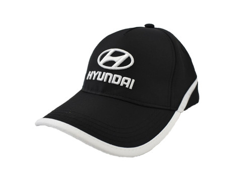 Hyundai Hat - Black and White