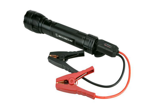 Portable Car Jump Starter Flashlight w/ USB Power