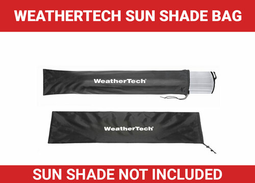 WeatherTech Sun Shade Bag - Product Note