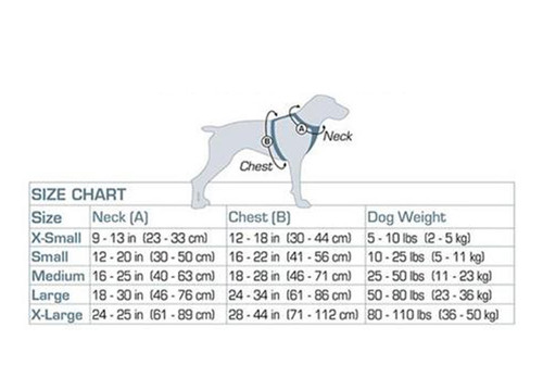 Pet Enchaced Strength Tru-Fit Smart Harness w/seatbelt (Size Chart)