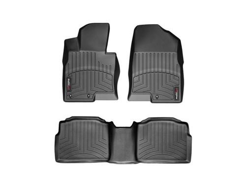 2011-2014 Hyundai Sonata WeatherTech Floor Liners - Full Set,Black