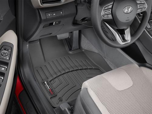 2021-2022 Hyundai Santa Fe WeatherTech Floor Liners - Front