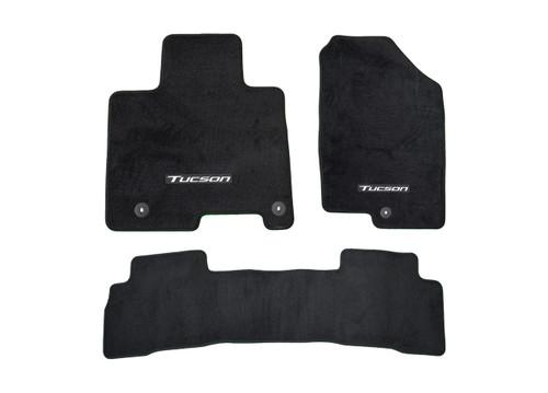 2022 Hyundai Tucson Carpet Floor Mats - Full Set (Hybrid)