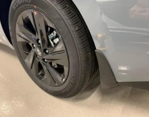 2021-2022 Hyundai Elantra Mud Guards (Rear)