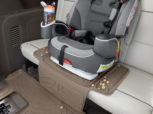 WeatherTech Child Car Seat Protector - In Vehicle under car seat
