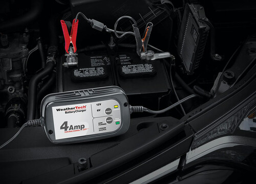 WeatherTech Battery Charger - Hooked Up