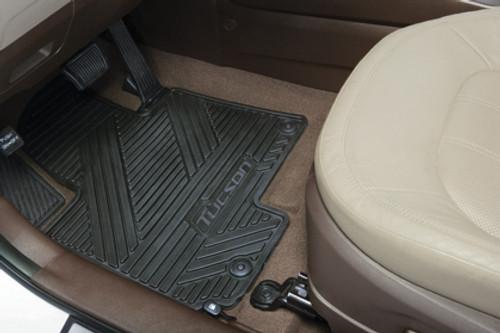2014-2015 Hyundai Tucson Rubber Floor Mats
