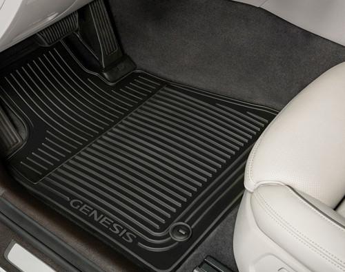 2015-2016 Hyundai Genesis Rubber Floor Mats
