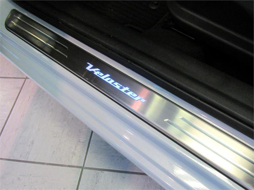 Hyundai Veloster LED Door Sill Plates