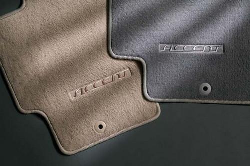 2011 Hyundai Accent 3-Door Carpeted Floor Mats