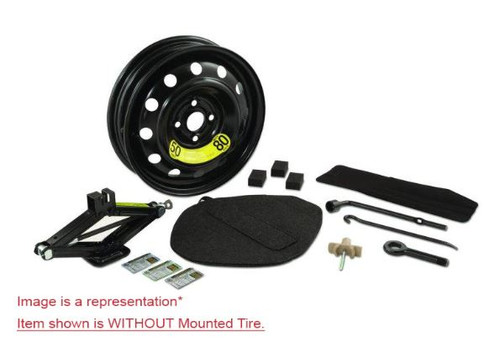 2011-2016 Hyundai Elantra Spare Tire Kit - Option #1 - WITHOUT tire.