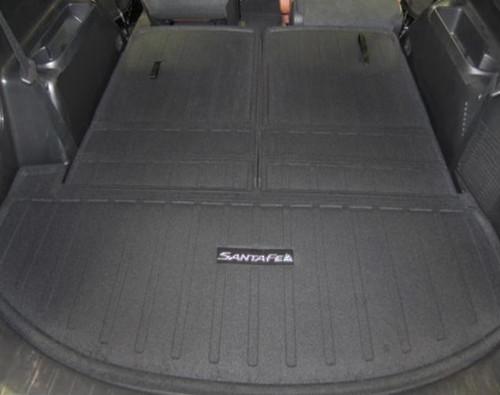 2013-2018 Hyundai Santa Fe Cargo Mat: 6/7 Passenger Cargo Mat - 3rd Row Seat Back Protection