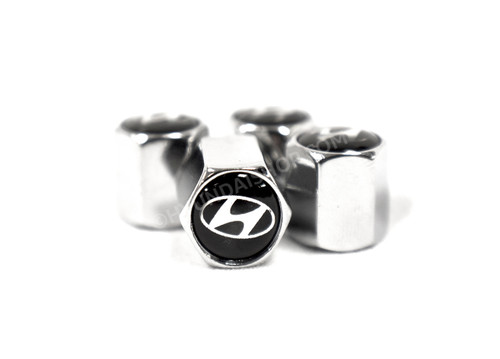 Hyundai Valve Stem Caps