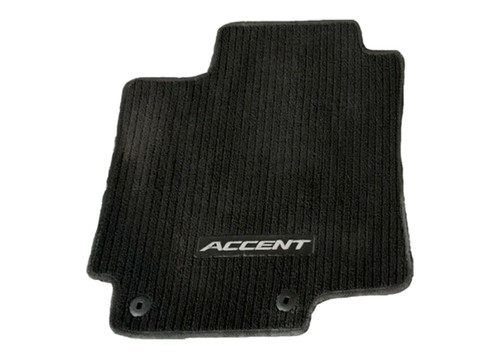 2012-2017 Hyundai Accent Floor Mats (Black)
