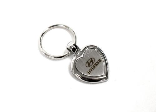 Hyundai Keychain - Heart Shape