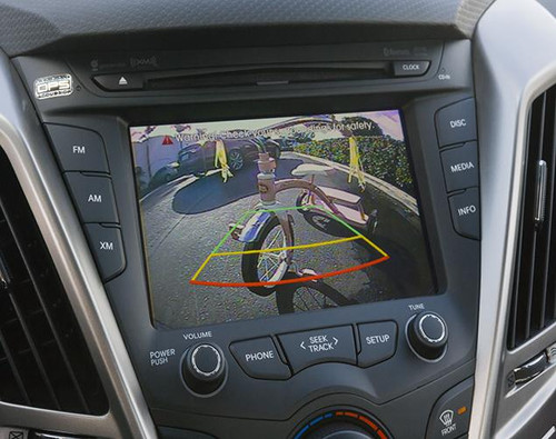 Hyundai Veloster Back-Up Camera