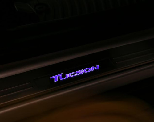 2016-2021 Hyundai Tucson LED Door Sill Plates
