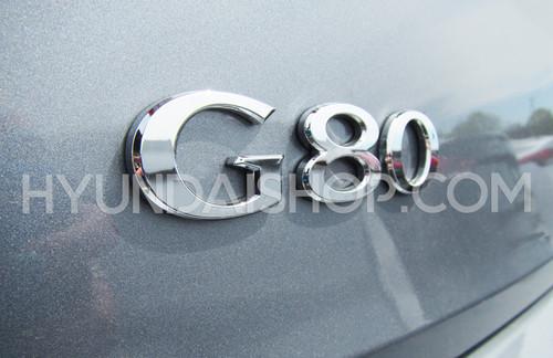 2015-2018 Genesis G80 Emblem