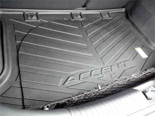 2012-2017 Hyundai Accent Rubber Cargo Tray