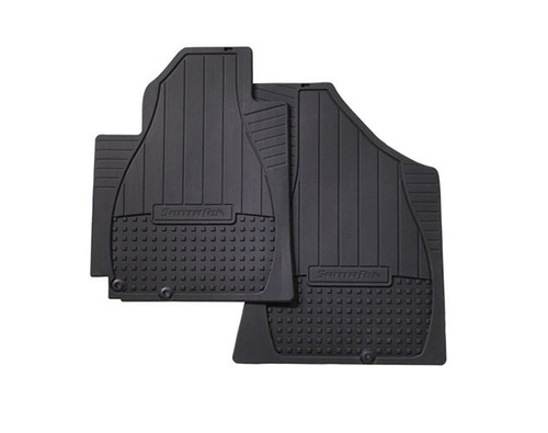 Hyundai Santa Fe Rubber Floor Mats - Second Row