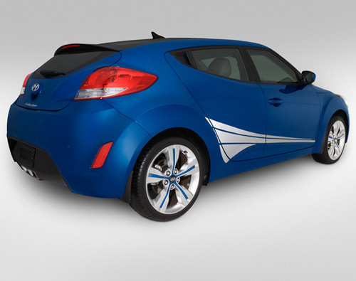 Hyundai Veloster Lower Fan Body Graphic